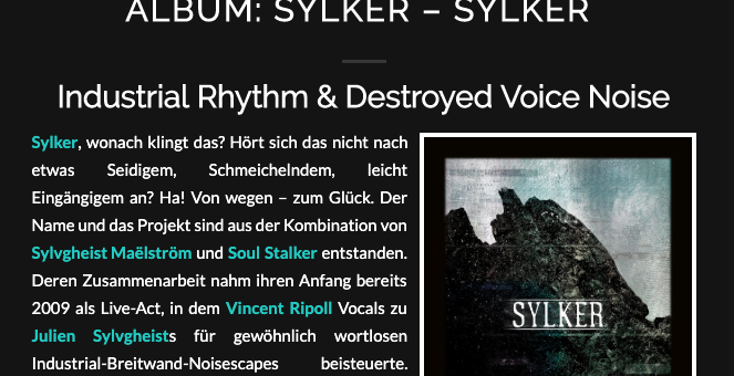 Sylker reviewed in SchwarzesBayern