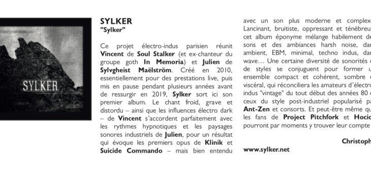 Sylker reviewed in french fanzine Twice
